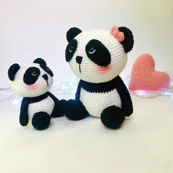 Urso Panda em 2020 | Urso panda, Animais feitos de meias, Urso de ... | 600x600